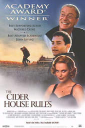 The Cider House Rules video release poster